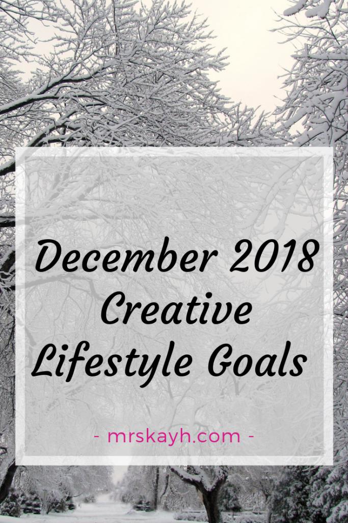 December 2018 Goals